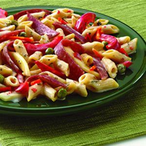 pasta con salame piccante
