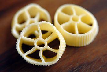 formato di pasta ruote