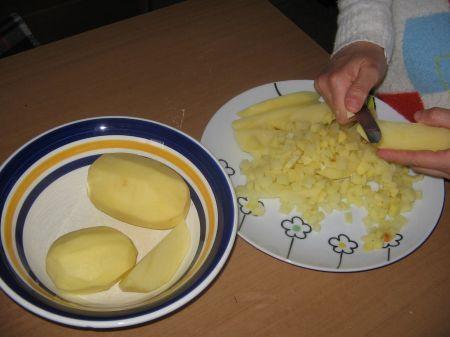 patate a cubetti