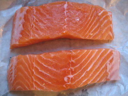 pavè di salmone