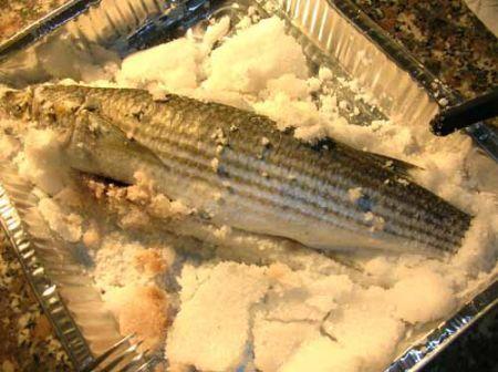 rompete la crosta di sale