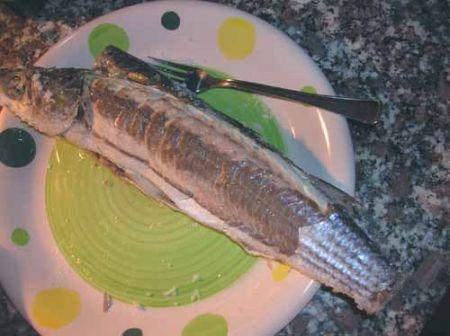 togliete la pelle al pesce