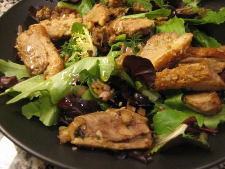 petto di pollo alle verdure dell'orto