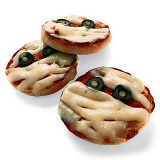 pizzette zombie per halloween
