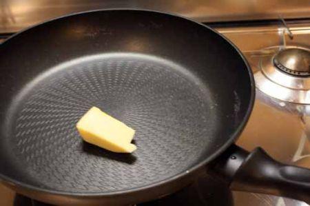 burro nella padella