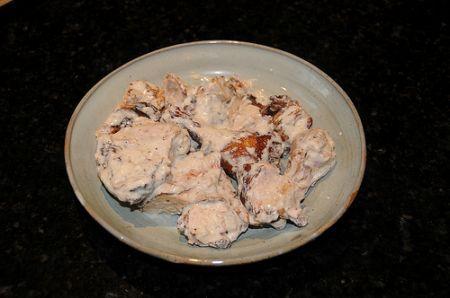 pollo esotico con salsa di yogurt