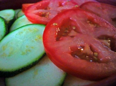pomodori zucchine