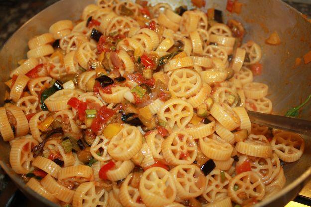 ricetta pasta verdure fritte 01