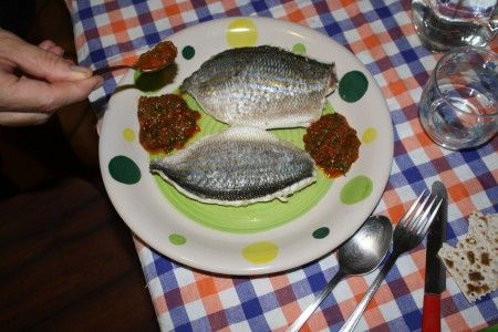 ricetta pesce pesto rosso 01