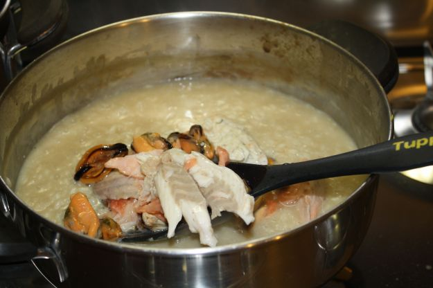 ricetta risotto di pesce 01