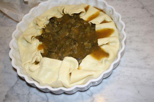 ricetta torta carciofi senza latticini 01