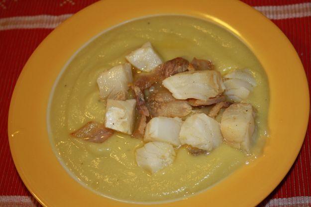 ricetta vellutata cavolfiore stoccafisso 01