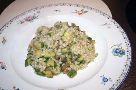 risotto gamberi zucchine carciofi 01