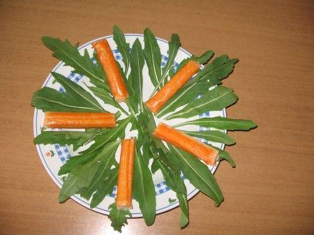 rucola surimi