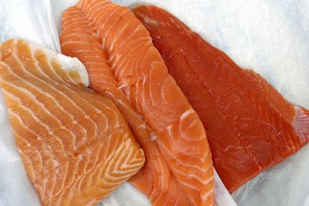 salmone per la ricetta con il tartufo