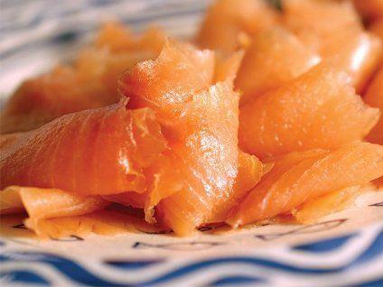 salmone cannoli