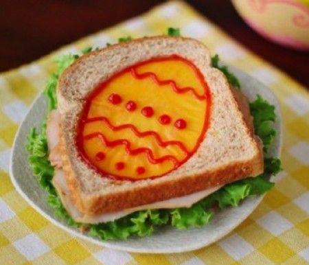 sandwich uovo ricetta pasquale