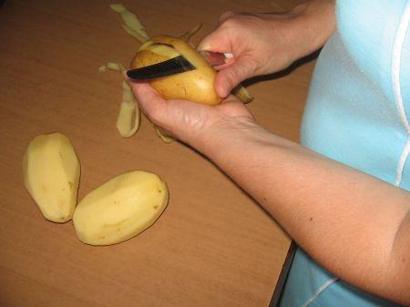 sbuccia patate