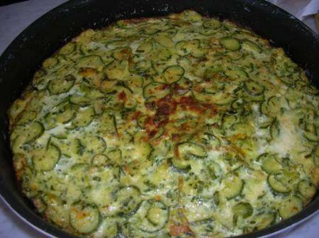 Sformato di zucchine cotto