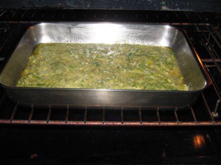 sformato asparagi nel forno