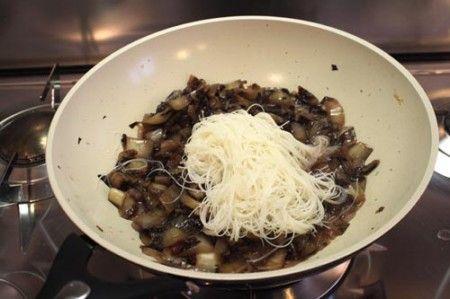 spaghetti riso radicchio 00