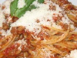 spaghetti con pachino e aromi