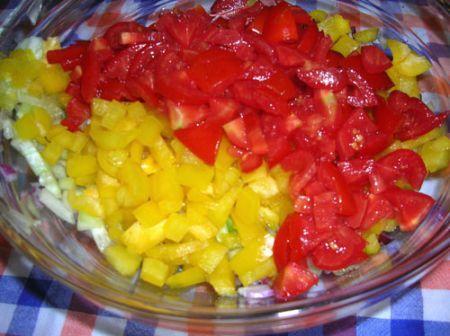 taboule' di verdure estive