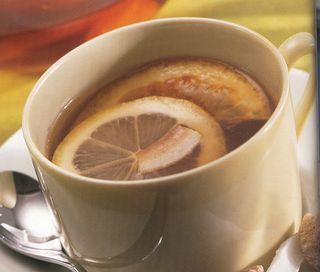 Tè al cocco e agrumi