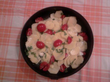 teglia di patate