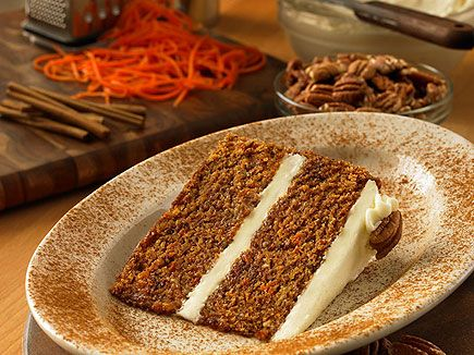 torta carote e noci