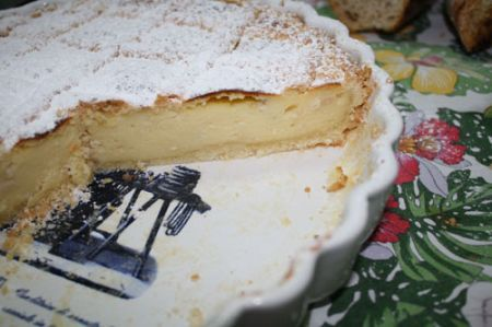 torta con i pinoli