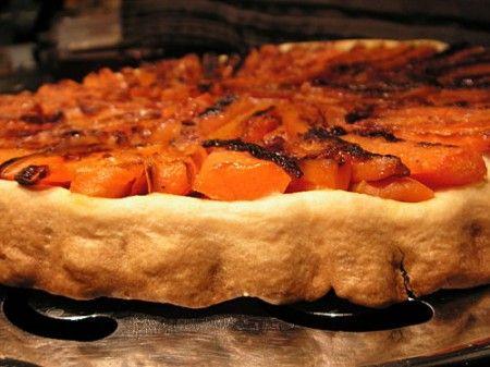 torta salata tatin carote