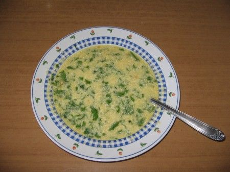 uova prezzemolo parmigiano