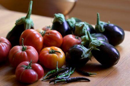 verdure miste per la teglia