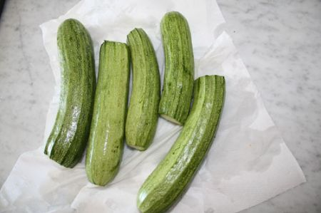 zucchine ripiene di magro Artusi