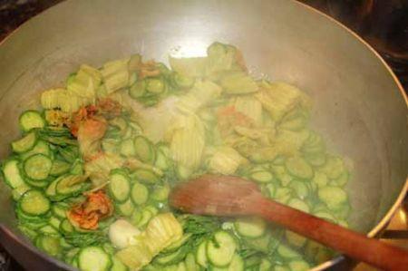 zucchine zafferano