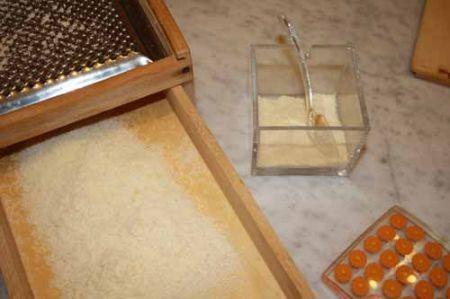 grattugiate il parmigiano