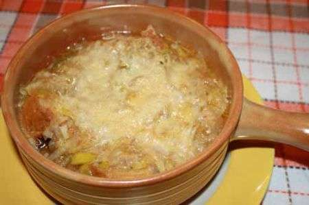 zuppa di cipolle all'italiana