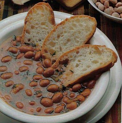 zuppa di fagioli e sedano
