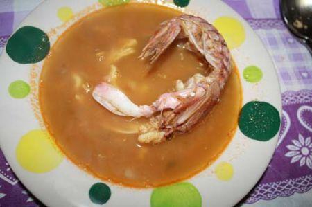 zuppa di pesce dei pescatori