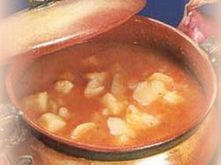 zuppa di patate rosse