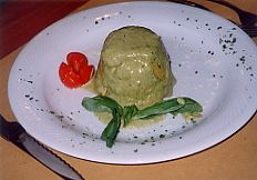 Flan di parmigiano