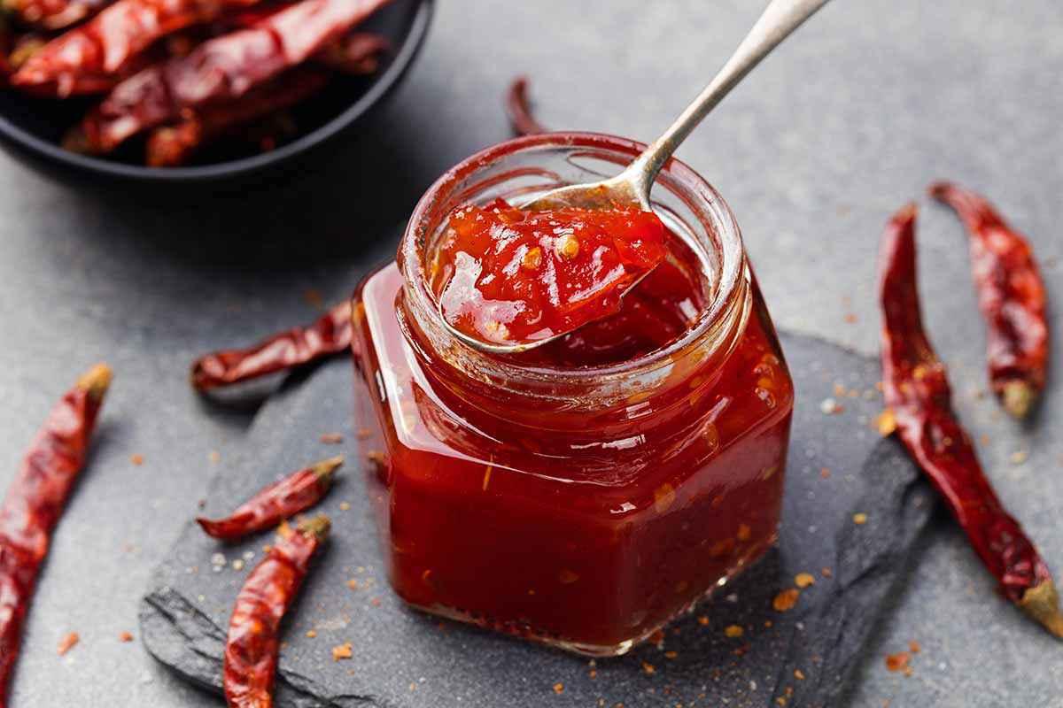 Conserva di peperoncini piccanti