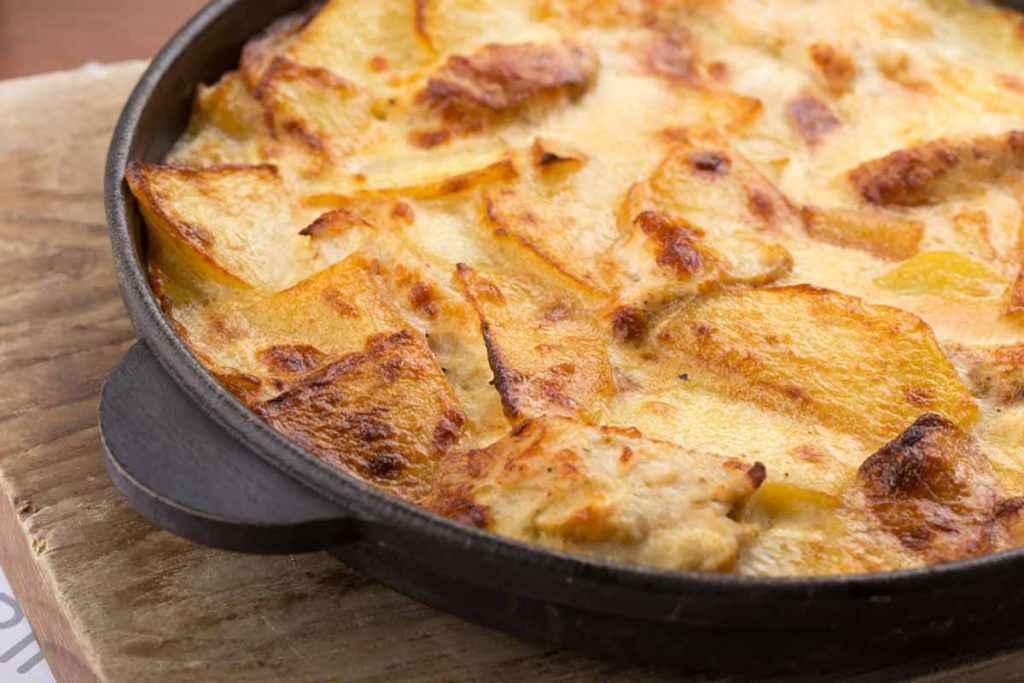 Frittata di patate con pancetta