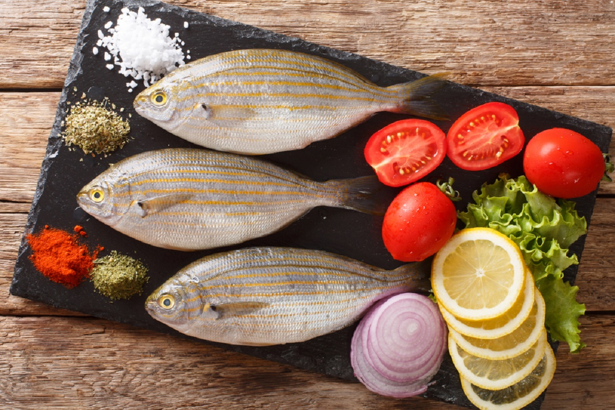 salpa pesce alle spezie