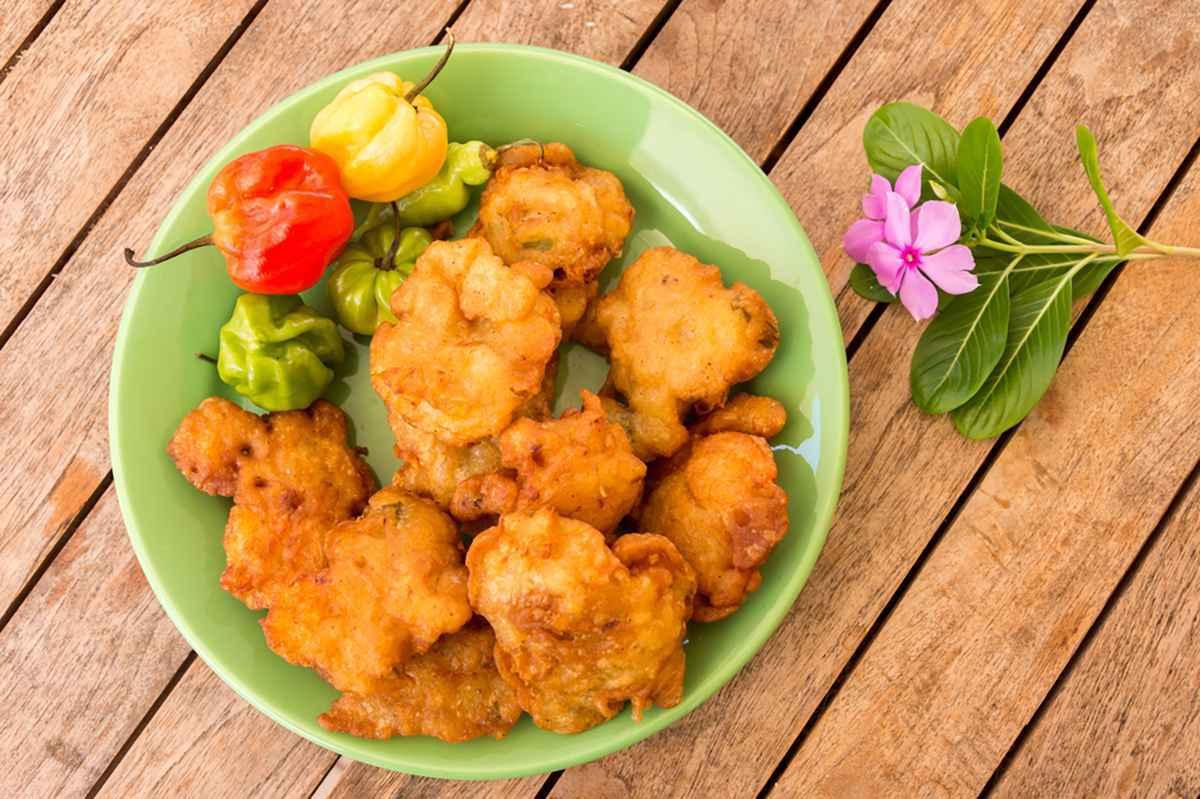 Frittelle (frisceu) di baccalà