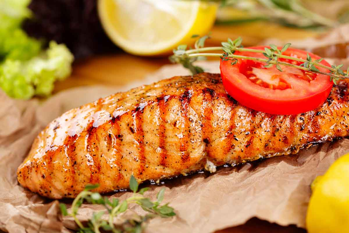 Salmone alla griglia