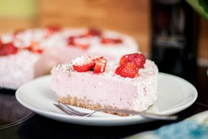 torta fragole yogurt