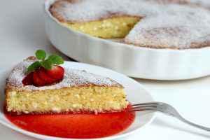 torta ricotta fragole