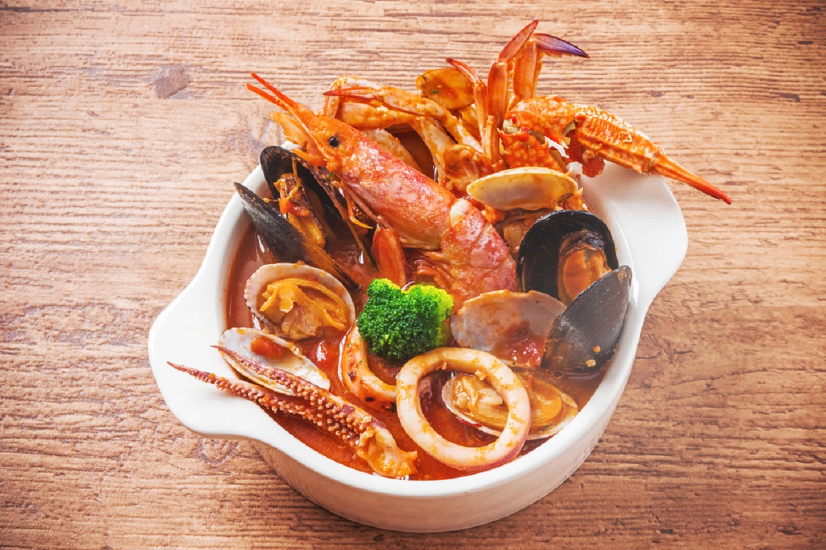 zuppa di pesce marsigliese Bouillabaisse